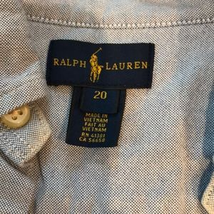 Polo by Ralph Lauren Shirts - GREAT CONDITION light blue polo buttondown